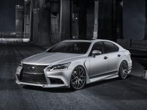 2012 Lexus Project LS460 F-Sport by Five Axis